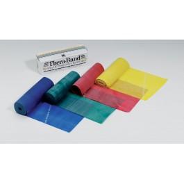 Οι ελαστικοί ιμάντες της Thera-Band, από φυσικό Latex, είναι προϊόντα οικονομικά, εύκολα μεταφερόμενα, ευέλικτα, με σχεδόν απεριόριστες δυνατότητες χρήσεως με σκοπό την αύξηση της δύναμης, κινητικότητας και ευελιξίας.