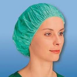 Σκούφιες Χειρουργικές Με Λάστιχο Πράσινες