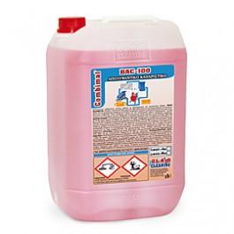 Το Combimat® BAC 100, είναι λεπτόρρευστο απολυμαντικό καθαριστικό γενικής χρήσης, χαμηλού αφρισμού, με βακτηριοκτόνο (ελεγμένο κατά EN1040 και EN1276*) και μυκητιοκτόνο(EN1650) δράση.