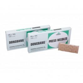 Βελόνες Βελονισμού Dong Bang Press Needles 100τεμ. Κατάλληλες και για ωτοβελονισμό. Σε όλα τα διαθέσιμα μεγέθη, από ανοξείδωτο ατσάλι. Οι βελόνες Βελονισμού είναι αποστειρωμένες.