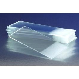 Αντικειμενοφόρες πλάκες γυάλινες μικροσκοπίου. Η υψηλή ποιότητα κατασκεύης εξασφαλίζει εξαιρετική καθαρότητα και φωτεινότητα.