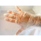 Γάντια Nylon Διαφανή