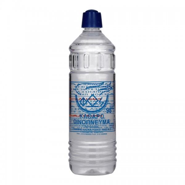 Το Καθαρό Οινόπνευμα είναι υγρό διαυγές και άχρωμο.  Λόγω της υψηλής καθαρότητας, το Καθαρό Οινόπνευμα 95°C προσφέρει αντισηπτικές και αντιμικροβιακές ιδιότητες και είναι κατάλληλο για εντριβές.