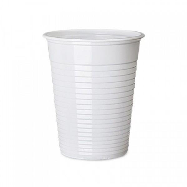 Πλαστικό ποτήρι νερού, μίας χρήσης.