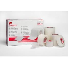 Ταινίες αυτοκόλλητες πορώδεις - πλαστικές από πορώδες λεπτό διαφανές φύλλο με υποαλλεργική κόλλα.