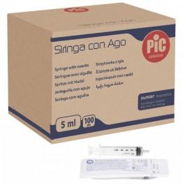 Σύριγγες τριών μερών χωρίς βελόνα, μιας χρήσης, αποστειρωμένες με αιθυλενοξείδιο, συσκευασμένες σε ατομική συσκευασία blister.